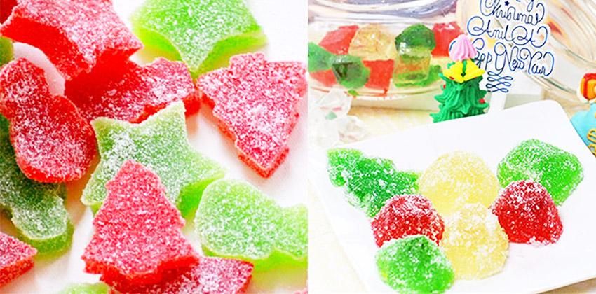 Cách làm kẹo dẻo giáng sinh ngon ngất ngây  Cách làm kẹo dẻo Giáng Sinh ngon ngất ngây từ hoa quả cach lam keo deo giang sinh ngon ngat ngay tu hoa qua 45
