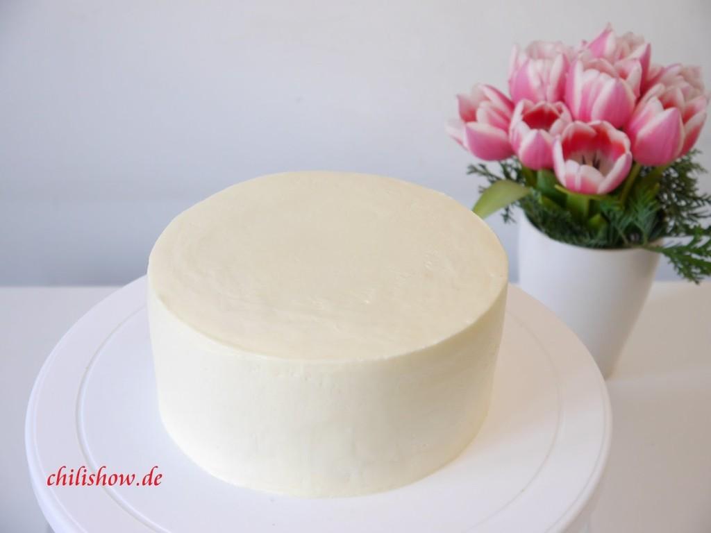 Cách làm bánh kem bắp kiểu Pháp-45 cách làm bánh kem bắp Cách làm bánh kem bắp kiểu Pháp cach phu kem len banh gato min phang khong the bo qua 1 1024x768 1