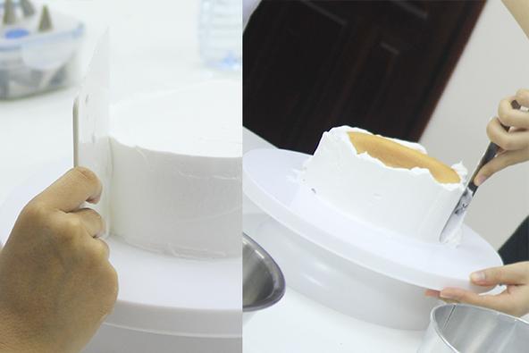 Cách phủ kem lên bánh gato phẳng mịn không nên bỏ qua-56 cách phủ kem lên bánh gato Cách phủ kem lên bánh gato phẳng mịn đẹp như ý cach phu kem len banh gato min phang khong the bo qua 2