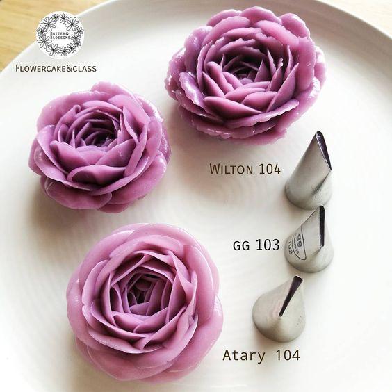 Lưu lại những mẫu hoa kem bơ Hàn Quốc hot nhất không thể bỏ qua-345  8 mẫu hoa kem bơ Hàn Quốc phổ biến nhất trong trang trí bánh tong hop nhung mau hoa kem bo dep nhat nam 20174
