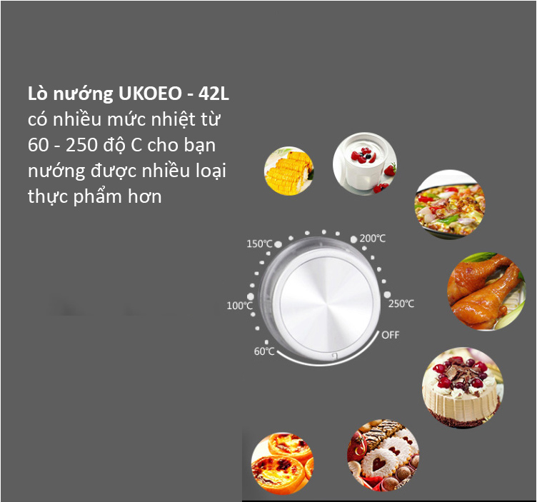 đánh giá lò nướng ukoeo Đánh giá lò nướng ukoeo Đánh giá lò nướng UKOEO nên mua hay không? ukoeo 8