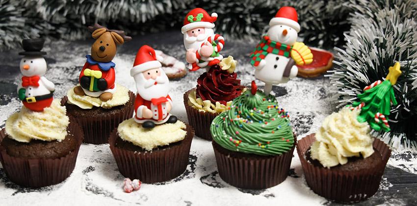 6 cách trang trí bánh cupcake cho giáng sinh thêm rực rỡ cách trang trí bánh Gợi ý 6 cách trang trí bánh cupcake cho Giáng sinh thêm rực rỡ 6 cach trang tri banh cupcake