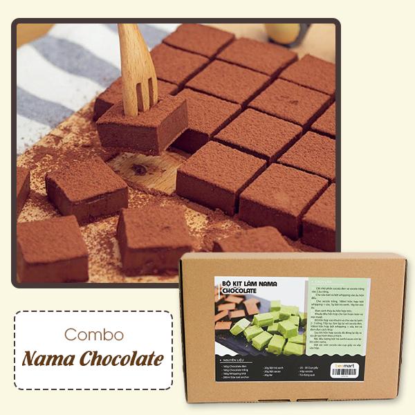 """cách làm nama chocolate Cách làm nama chocolate dẻo """"độc nhất vô nhị"""" 600x600 nama chocolate"""