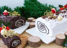 cách làm bánh giáng sinh Cách làm bánh Giáng sinh không cần lò nướng banh khuc cay 230x165