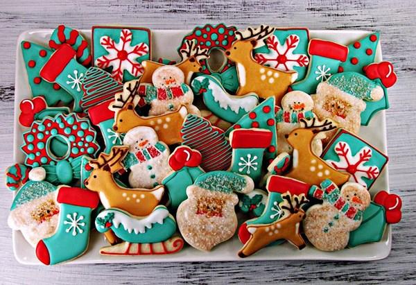 Cách làm bánh quy bơ Giáng sinh đơn giản-1 mẫu bánh giáng sinh đẹp 2017 Gợi ý cho bạn 6 mẫu bánh Giáng sinh đẹp 2017 cach lam banh quy bo giang sinh don gian 5