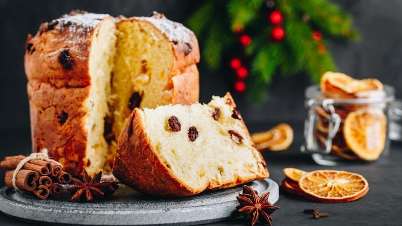 cách làm bánh panettone Cách làm bánh Panettone – hương vị bánh đặc trưng đến từ nước Ý cach lam banh