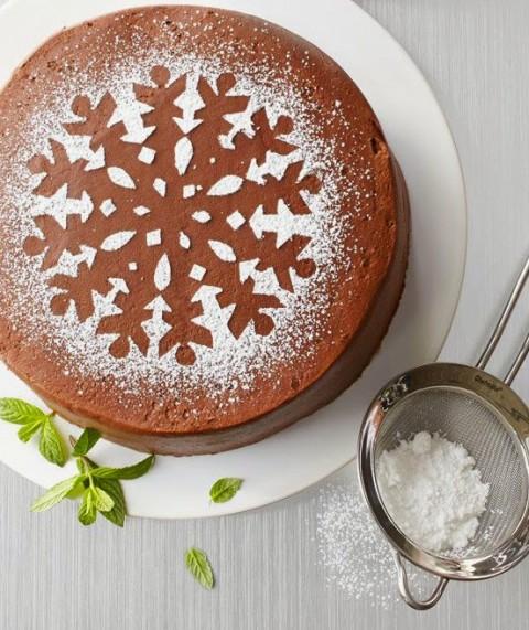 Cách trang trí bánh kem Noel-678 cách trang trí bánh kem noel 10 cách trang trí bánh kem Noel đơn giản mà vẫn đẹp lung linh trang tri banh 14 480x571