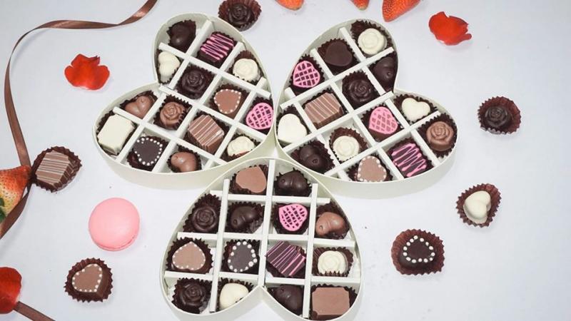 chocolate tình yêu Tự làm chocolate tình yêu tặng người yêu đơn giản mà ý nghĩa nhất l  m socola