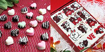 cách làm socola nhiều màu Cách làm socola nhiều màu làm quà tặng Valentine rực rỡ 2