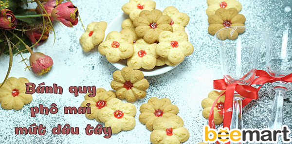 bánh quy phô mai bánh quy phô mai Cách làm bánh quy phô mai nhân mứt dâu thơm ngon, giòn rụm banh quy pho mai 2 e1519614253521