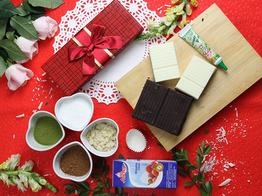 combo về đích socola truffle hướng dẫn làm socola handmade HOT!!! Hướng dẫn làm socola handmade miễn phí tại Beemart combo thoat e ve dich 6