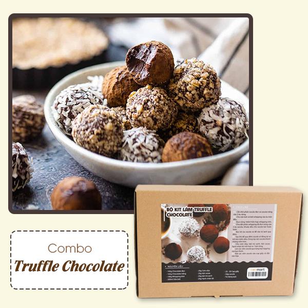 """cách làm chocolate truffle Cách làm chocolate truffle lãng mạn đốn tim """"crush"""" ngày Valentine truffle 12"""
