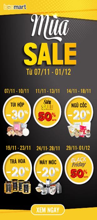 hotsale tháng 11