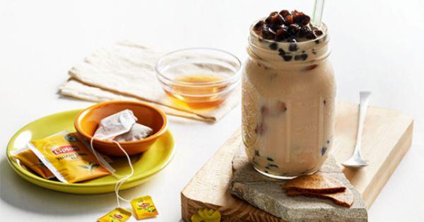 cách làm trà sữa lipton cách làm trà sữa lipton Cách làm trà sữa Lipton thơm ngon, mát lạnh chỉ với 3 bước cach lam tra sua lipton 4
