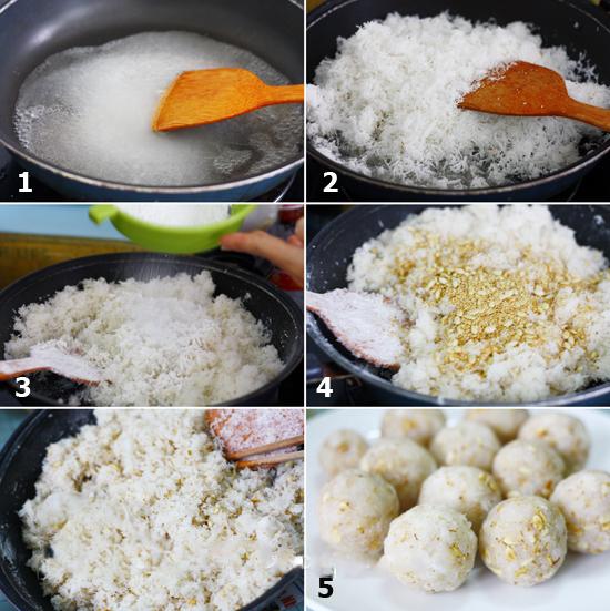 bánh dẻo đậu biếc 9 cách làm bánh dẻo trung thu Cách làm bánh dẻo Trung thu hoa đậu biếc nhân sữa dừa lạ mà quen banh deo dau biec 9
