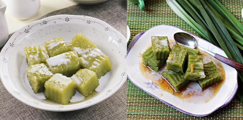 bánh đúc lá dứa nước dừa bánh đúc lá dứa nước dừa Cách làm bánh đúc lá dứa nước dừa dai mềm cực hấp dẫn banh duc la dua nuoc dua d2f