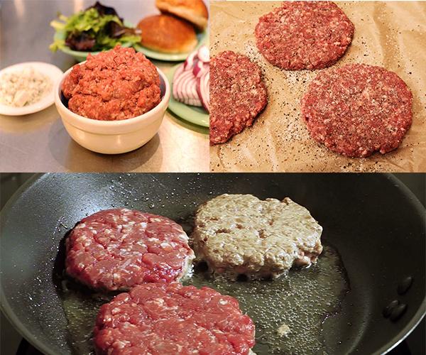 hamburger bò siêu đơn giản bánh hamburger bò Bánh hamburger bò siêu đơn giản cho bữa sáng tràn đầy năng lượng cach lam banh hamburger03