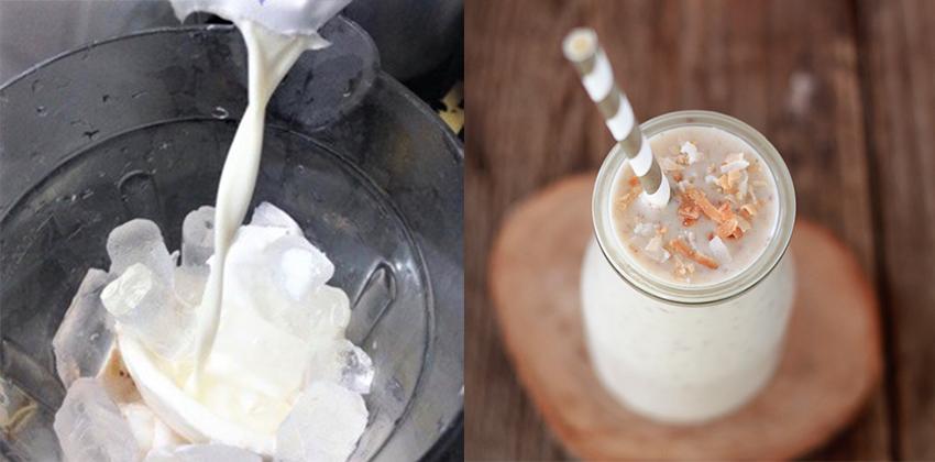 cách làm sinh tố sữa dừa 16 cách làm sinh tố sữa dừa Cách làm sinh tố sữa dừa thơm ngon, béo ngậy ngất ngây trong mùa hè cach lam sinh to sua dua 16