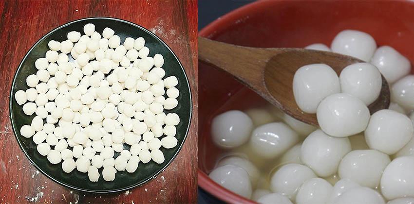 làm trân châu trắng bằng bột năng 4 cách làm trân châu trắng bằng bột năng Cách làm trân châu trắng bằng bột năng cực đơn giản mà bạn chưa biết lam tran chau trang bang bot nang 56