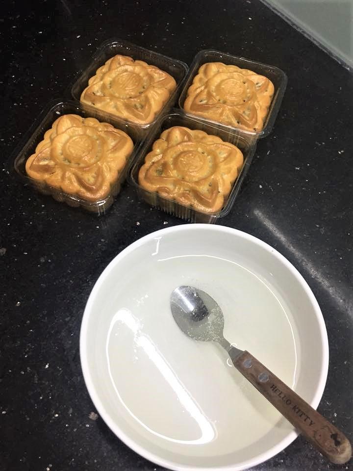 bánh nướng từ nước đường trắng 3 cách làm bánh nướng trung thu Cách làm bánh nướng Trung thu từ nước đường bánh dẻo cực lạ banh nuong tu nuoc duong trang 3