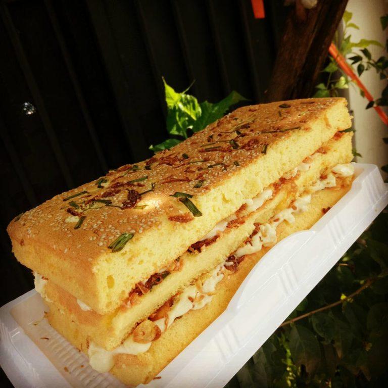 cách làm bánh bông lan cuộn đậu xanh chà bông hành phi thơm nức mũi cách làm cốt bánh bông lan Cách làm cốt bánh bông lan cơ bản cực đơn giản cach lam banh bong lan cuon dau xanh cha bong hanh phi thom nuc mui