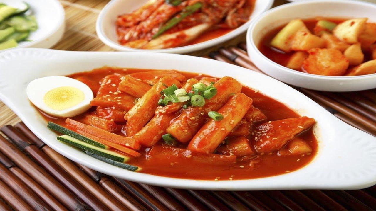 cách làm bánh gạo cay hàn quốc 56 cách làm bánh gạo cay hàn quốc Cách làm bánh gạo cay Hàn Quốc siêu đơn giản từ nguyên liệu sẵn có cach lam banh gao cay 56