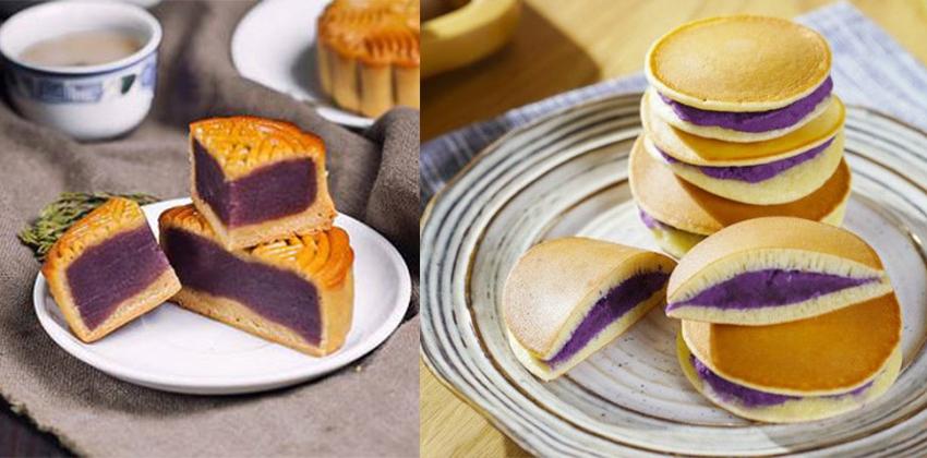 cách làm bánh nhân khoai 123 cách làm bánh nhân khoai Cách làm bánh nhân khoai lang tím hấp dẫn khó cưỡng cach lam banh nhan khoai 123