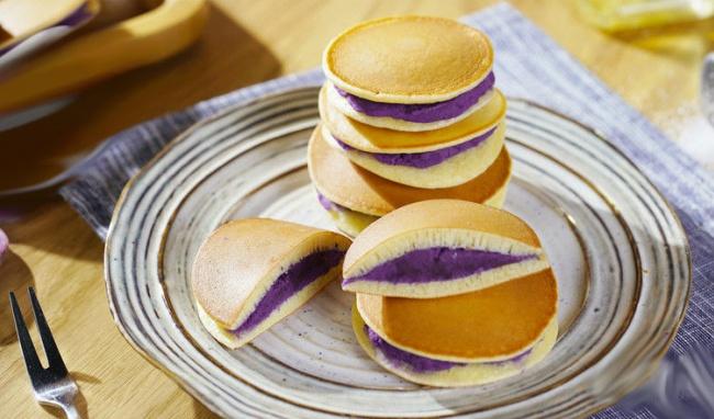 cách làm bánh nhân khoai 3 cách làm bánh nhân khoai Cách làm bánh nhân khoai lang tím hấp dẫn khó cưỡng cach lam banh nhan khoai 3