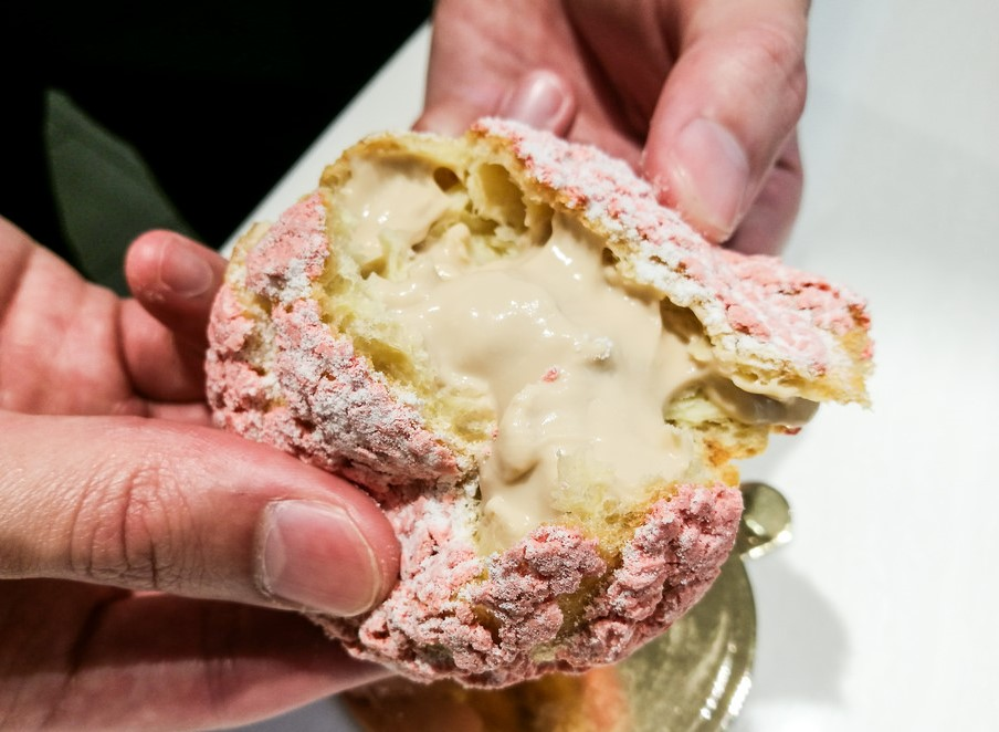 cách làm bánh su kem 11 cách làm bánh su kem Cách làm bánh su kem trà sữa ngon ngất ngây cach lam banh su kem 11