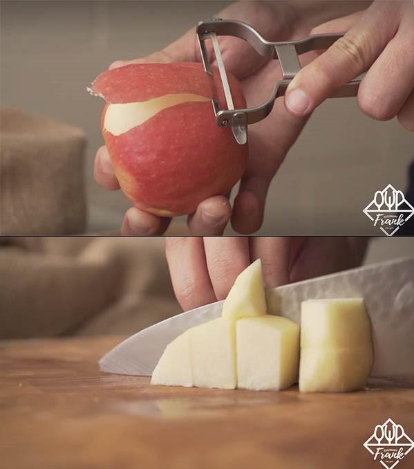 cách làm bánh táo 02 cách làm bánh táo Cách làm bánh táo ngon đắm say, đẹp ngất ngây cach lam banh tao 02