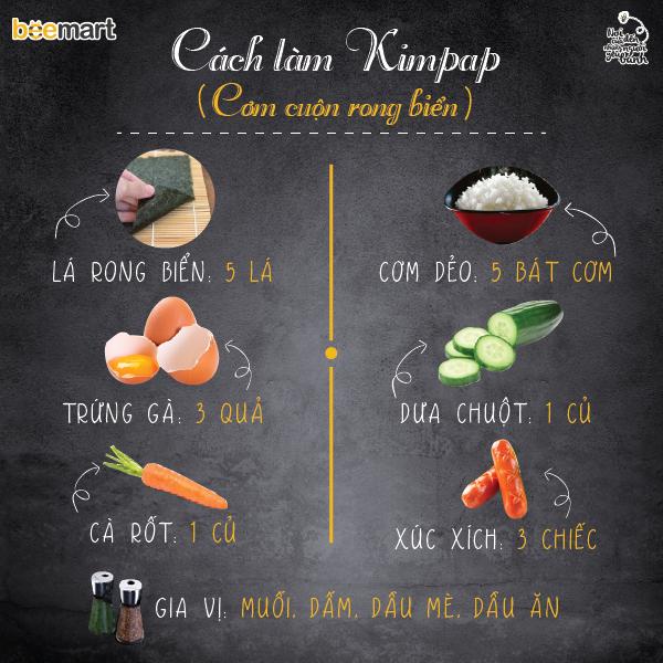 cách làm đồ ăn hàn quốc 14 cách làm đồ ăn hàn quốc Cách làm đồ ăn Hàn Quốc nhanh vèo vèo chỉ trong 30 phút cach lam do an han quoc 14