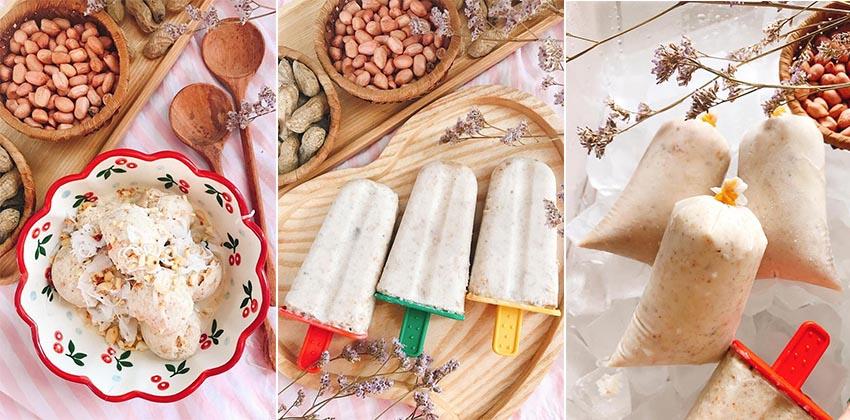 cách làm kem đậu phộng 12 cách làm kem đậu phộng Cách làm kem đậu phộng thơm ngậy, ngọt mát chớm mùa thu cach lam kem dau phong 12