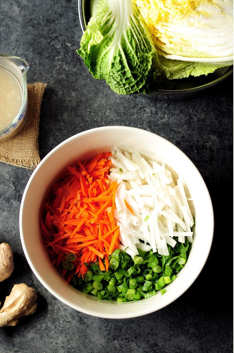 cách làm kimchi 11 cách làm kimchi Cách làm kimchi truyền thống ở nhà chỉ trong 7 bước cach lam kimchi 11