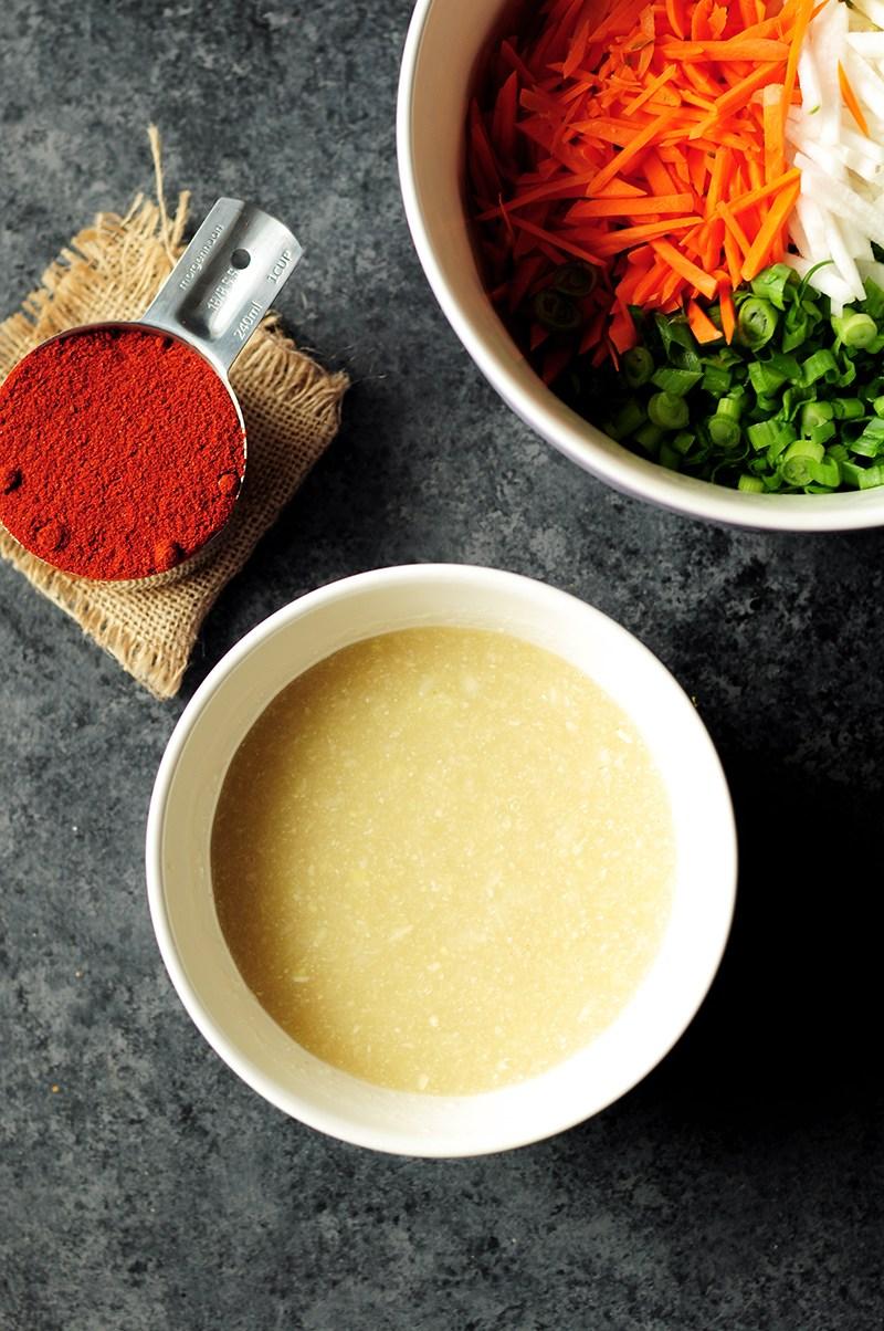 cách làm kimchi 4 cách làm kimchi Cách làm kimchi truyền thống ở nhà chỉ trong 7 bước cach lam kimchi 4