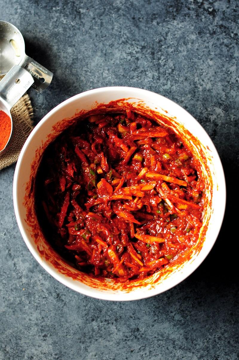 cách làm kimchi 6 cách làm kimchi Cách làm kimchi truyền thống ở nhà chỉ trong 7 bước cach lam kimchi 6