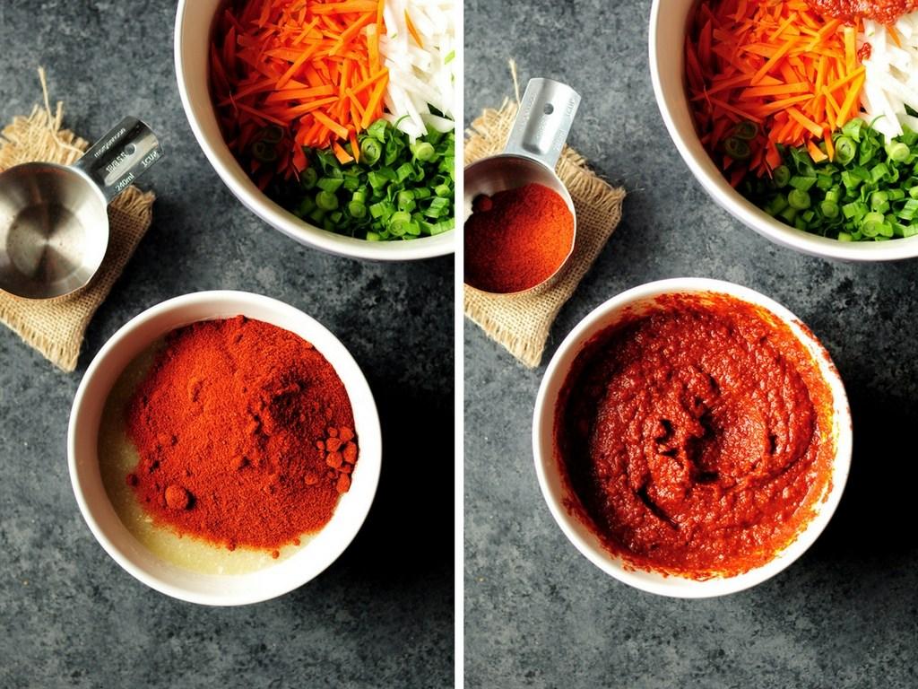 cách làm kimchi 7 cách làm kimchi Cách làm kimchi truyền thống ở nhà chỉ trong 7 bước cach lam kimchi 7