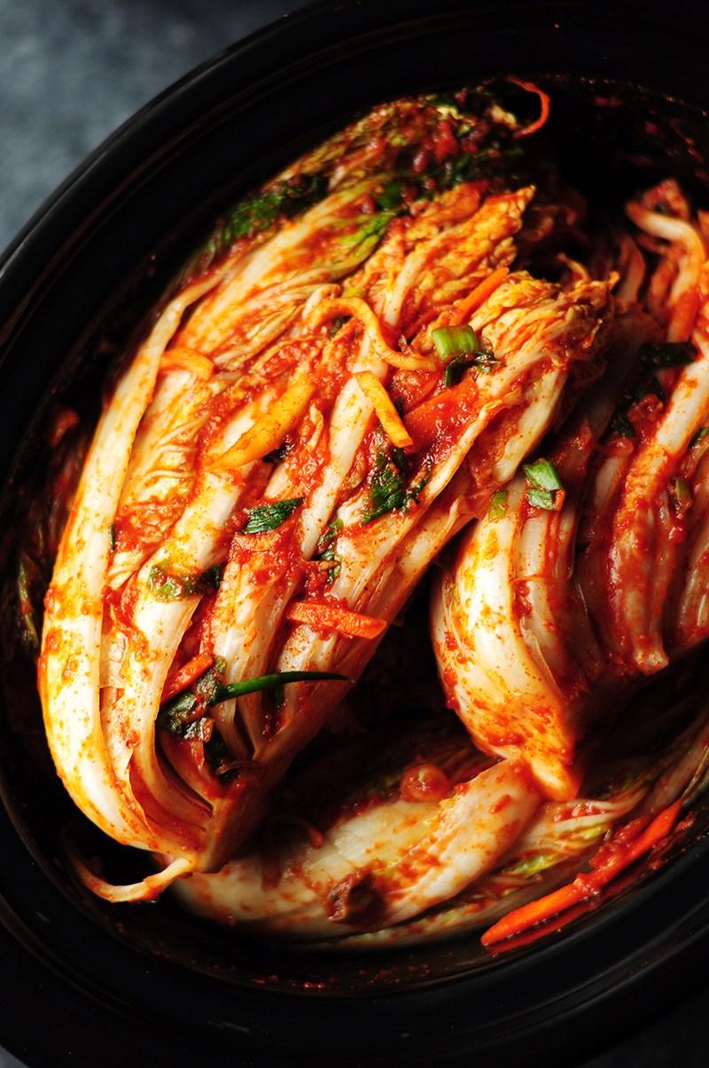 cách làm kimchi 8 cách làm kimchi Cách làm kimchi truyền thống ở nhà chỉ trong 7 bước cach lam kimchi 8