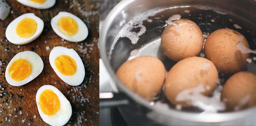 cách luộc trứng 16 cách luộc trứng Cách luộc trứng đơn giản nhưng không phải ai cũng làm được cach luoc trung 16
