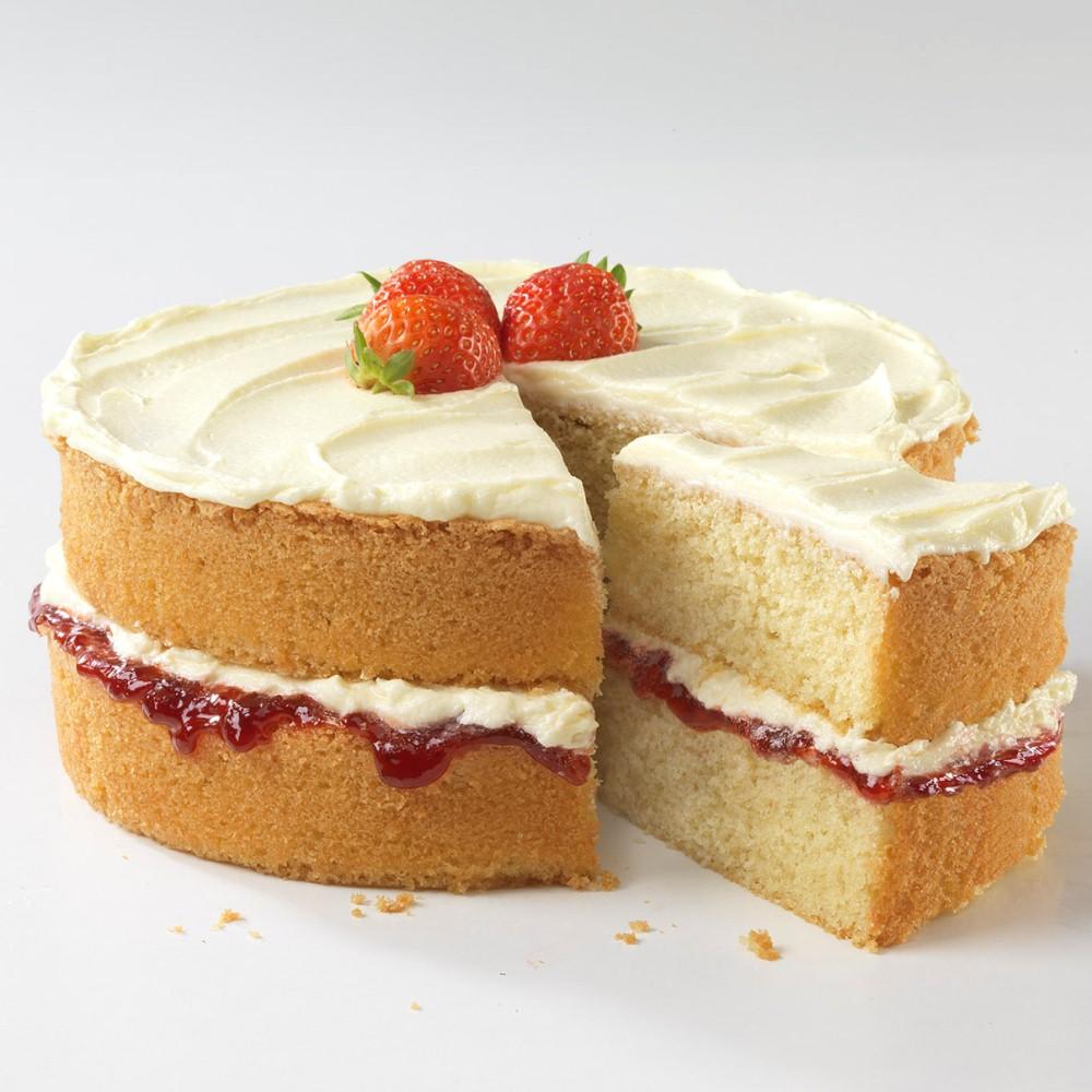 cách trang trí bánh bông lan 4 cách trang trí bánh bông lan Cách trang trí bánh bông lan cực ngon mà không cần đến kem tươi cach trang tri banh bong lan 4