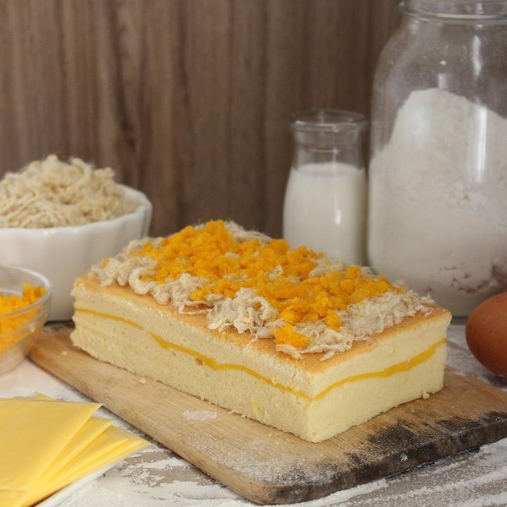 cách làm bánh bông lan 1 cách làm bánh bông lan Cách làm bánh bông lan trứng muối Castella cho thỏa cơn nghiện phô mai cach lam banh bong lan 1