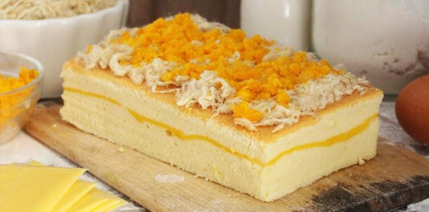 cách làm bánh bông lan 66 cách làm bánh bông lan Cách làm bánh bông lan trứng muối Castella cho thỏa cơn nghiện phô mai cach lam banh bong lan 66
