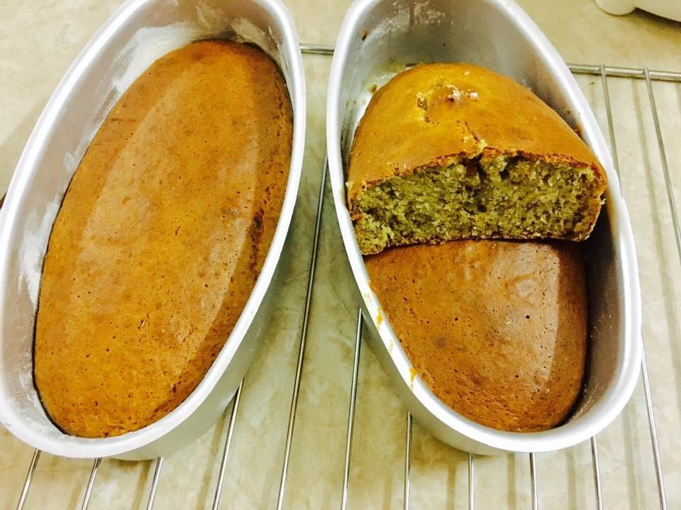 cách làm bánh bông lan chuối 5 cách làm bánh bông lan chuối Cách làm bánh bông lan chuối ngon mê ly cach lam banh bong lan chuoi 5