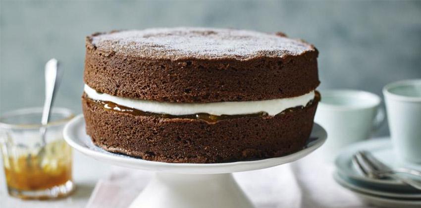 cách làm bánh bông lan socola 66 cách làm bánh bông lan socola Cách làm bánh bông lan socola nhân kem bơ đơn giản cach lam banh bong lan socola 66