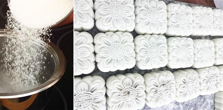 cách làm bánh dẻo 66 cách làm bánh dẻo Cách làm bánh dẻo Trung thu theo công thức không cần dầu ăn cach lam banh deo 66