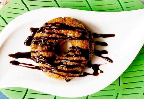 cách làm bánh donut 5 cách làm bánh donut Cách làm bánh Donut khoai lang yến mạch hạt chia ngon và lành cach lam banh donut 5