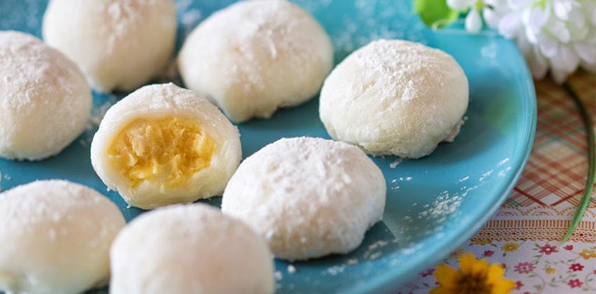 cách làm bánh mochi 3 cách làm bánh mochi Cách làm bánh Mochi cực ngon giữa tâm bão Trung thu cach lam banh mochi 3
