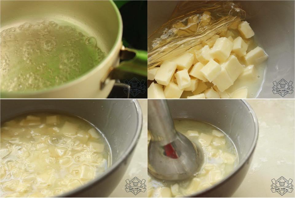 cách làm bánh mousse 17 cách làm bánh mousse Cách làm bánh mousse Lệ Chi long lanh cach lam banh mousse le chi 17