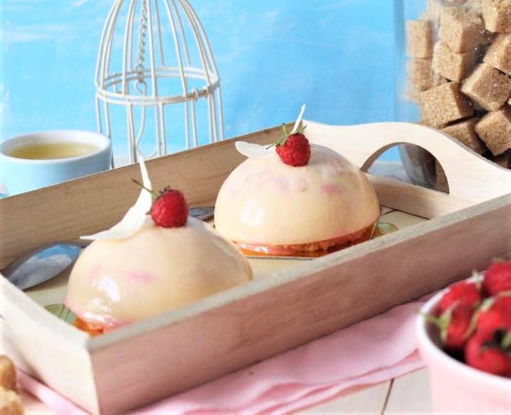 cách làm bánh mousse 1 cách làm bánh mousse Cách làm bánh mousse Lệ Chi long lanh cach lam banh mousse le chi 33 1