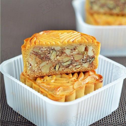 cách làm bánh trung thu 34 cách làm bánh trung thu Cách làm bánh Trung thu ít calo, ăn hoài mà không béo cach lam banh trung thu 34 1