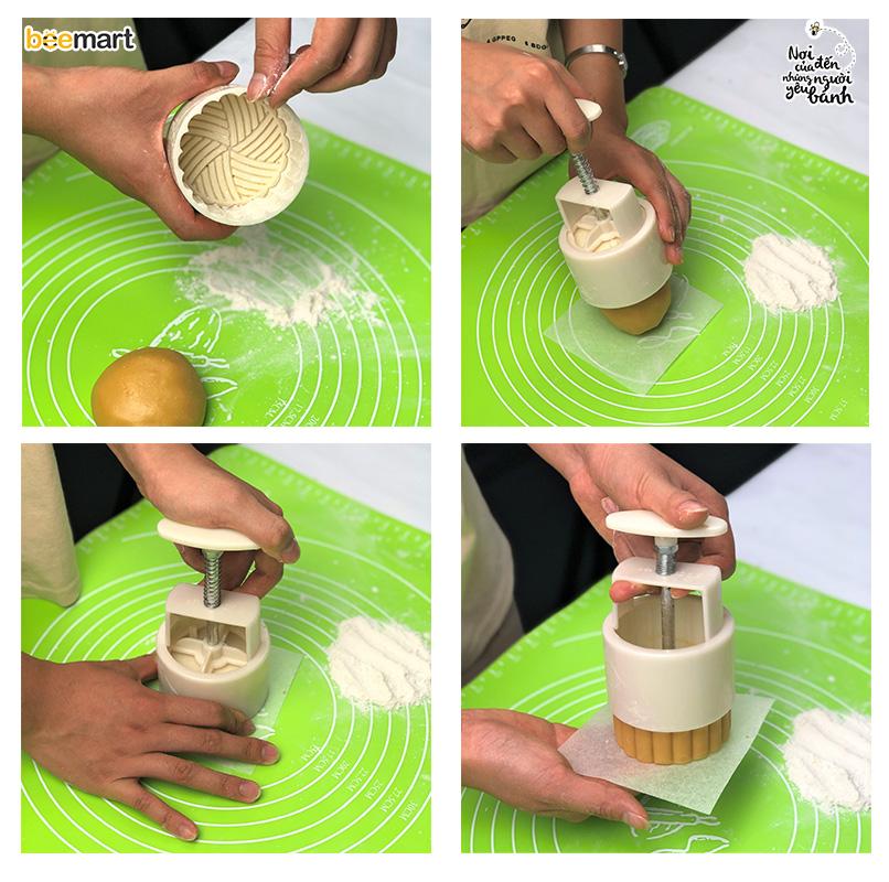 cách làm bánh trung thu 6 cách làm bánh trung thu Cách làm bánh Trung thu ít calo, ăn hoài mà không béo cach lam banh trung thu 6